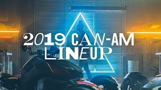 5. 2019 Can-Am Lineup // LIVE first look