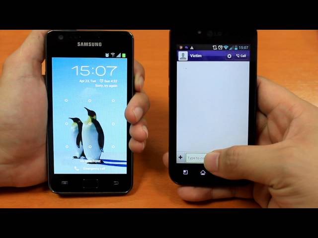 Exploiting Viber to bypass lock screen of Samsung Galaxy S II