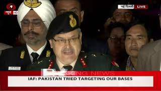 Joint Press briefing by Army, Navy, Air Force