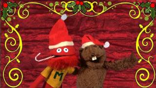 Mario and Fafa prepare for the Glove and Boots Christmas Spectacular.