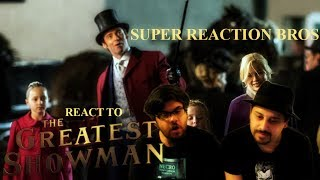 image of SUPER REACTION BROS REACT & REVIEW The Greatest Showman Official Trailer!!!!