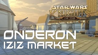 The Market place on Onderon is probably the main area that I think of when I think of KOTOR 2. It just feels so alive and lived in.