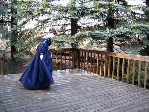 1840 Day Dress (видео)