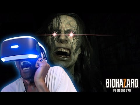 HEART ATTACK INCREASED BY 1000% | Resident Evil 7: Biohazard  [PlayStation VR]