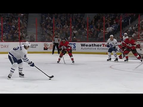 Video: Carrick puts Maple Leafs ahead with wrist shot from point