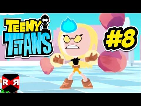 Teeny Titans (by Cartoon Network) - iOS / Android - Walkthrough Gameplay Part 8