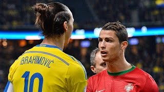 Cristiano Ronaldo Vs Zlatan Ibrahimovic ● Battle For Best Go...