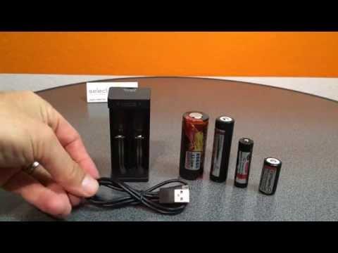 Xtar MC2 USB Li-Ionen Ladegerät mit 2 Ladeschächten