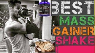 best homemade mass gainer shake!