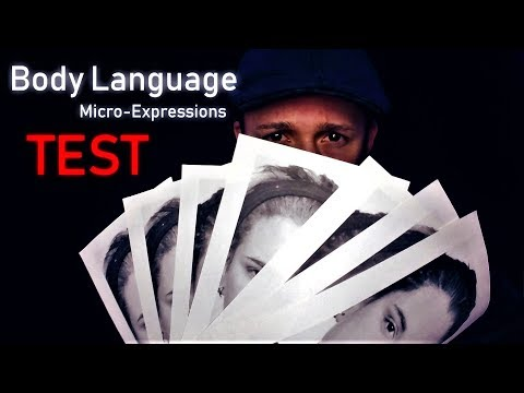 HOW TO READ FACES | Test by Paul Ekman