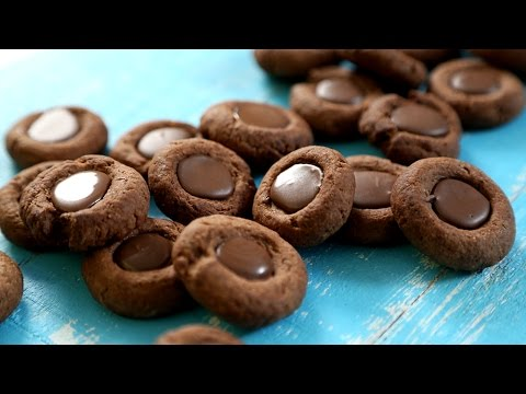 Thumbprint Cookies Recipe | Chocolate Cookies – Tea Time Snack | The Bombay Chef – Varun Inamdar