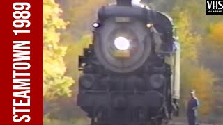Steamtown 1989: The first season as a unit of the National Park Service