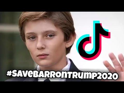 Save Barron Trump 2020 TikTok | #SaveBarronTrump2020
