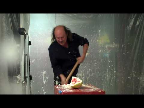 Gallagher Smashing Watermelon and other SHIT with his mallet - @OpieRadio