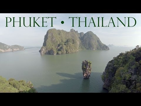 Phuket, Thailand • James Bond Island • Aerials in HD 1080p