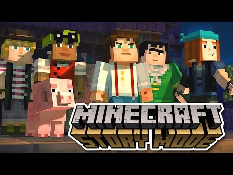Minecraft Story Mode Season 1 (episodes 1-4) 1080p Hd