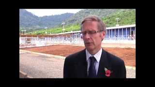 DFID's Donal Brown, the head of the UK's Ebola Task Force in Sierra Leone, talks from Kerry Town about the new treatment ...