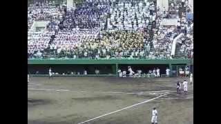 広島新庄 応援メドレー(決勝vs瀬戸内 第1戦) 2013年7月28日 しまなみ