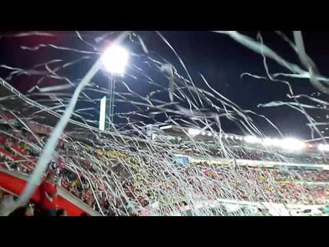 Santa Fe VS nacional 2016 La Guardia - La Guardia Albi Roja Sur - Independiente Santa Fe