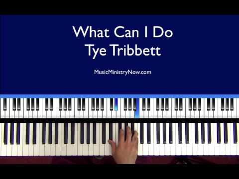 """What Can I Do"" - Tye Tribbett"