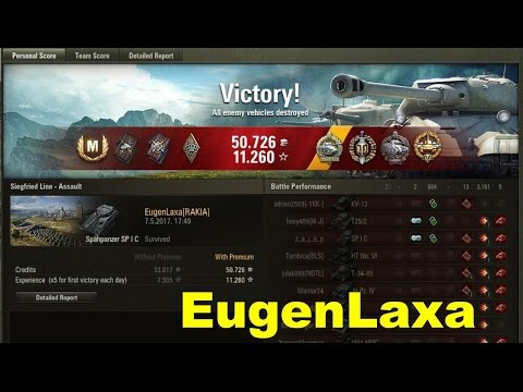 World Of Tanks || Spähpanzer SPIC  || 9 Kills, Radley Walter's