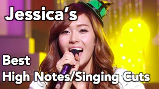 Download Lagu Jessica (Girls' Generation)- Best High Notes/Singing Cuts! Mp3