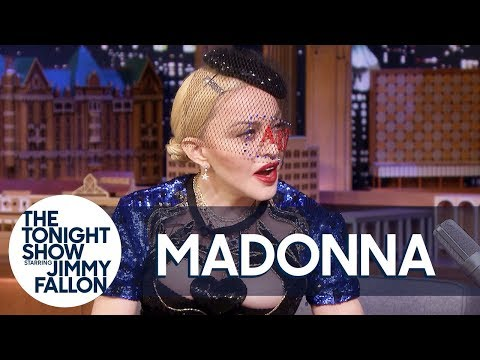 Madonna Gets Flustered Remembering Jimmy Introducing Her to President Obama