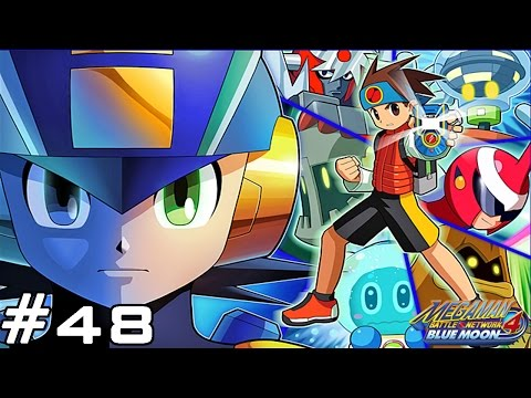 Mega Man Battle Network 4 : Blue Moon GBA