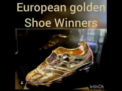 European Golden Shoe Winners and 2019 Standings