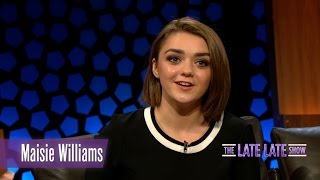 Maisie Williams aka Arya Stark from Game of Thrones speaks about her experiences with fans and cosplayers Fridays  9:35pm ...
