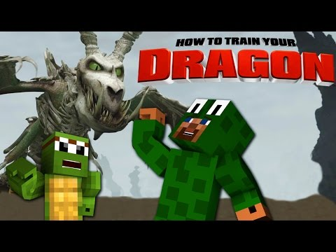 Minecraft – HOW TO TRAIN YOUR DRAGON 2 – [13] 'Saving TinyTurtle'