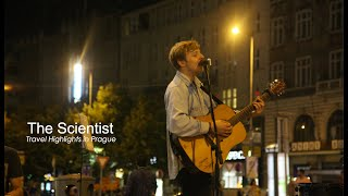 Video A band in Prague sings the Scientist. coldplay (cover) MP3, 3GP, MP4, WEBM, AVI, FLV Agustus 2018