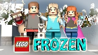 Video Minecraft | LEGO CHALLENGE - Disney Frozen Mod! (Elsa, Olaf, Sven) MP3, 3GP, MP4, WEBM, AVI, FLV Mei 2019