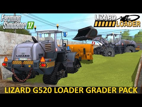 Lizard G520 Loader Grader Pack V1.0