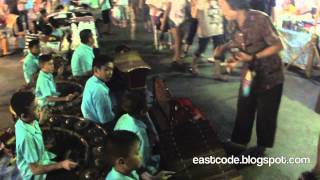 Thai  Student Traditional  Music  Krabi Weekend Walking Street South Thailand