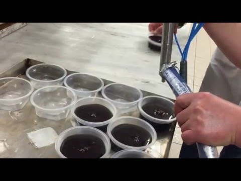 Çikolata Krem Şanti Dolum Makinası