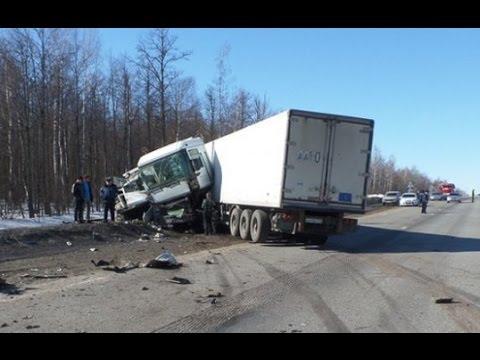 Аварии грузовиков за весь Март 2015