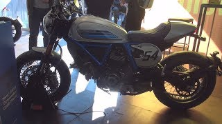 6. Ducati Scrambler Café Racer (2019) Exterior and Interior