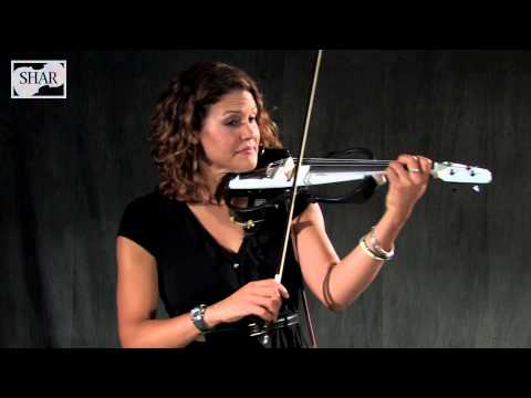 Video - Plug 'n Play&#0153 4-string Electric Violin Studio Outfit with Amp | PPV24TS