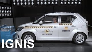 Video 2016 Suzuki ignis - Crash Test MP3, 3GP, MP4, WEBM, AVI, FLV Oktober 2018