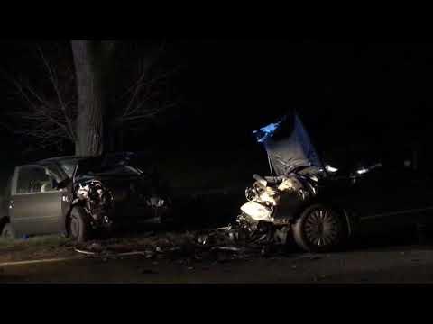 Wideo: Wypadek na drodze Siedlce - Turów