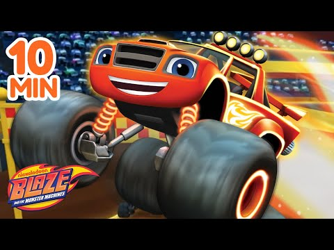Best Let's Blaze Moments!💥   Blaze and the Monster Machines