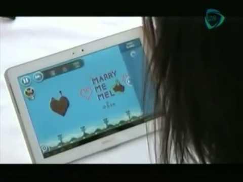 Le proponen matrimonio jugando Angry Birds