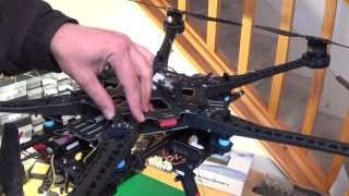 Preflight and Operating Instructions Overview: DJI S800 Evo with A2 and 3 Axis Gimbal