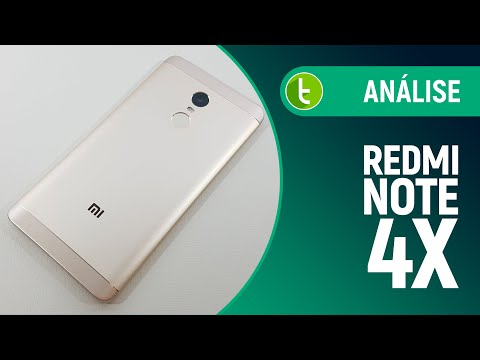 Análise Xiaomi Redmi Note 4X  Review do TudoCelular