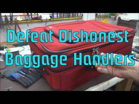 ecco come rubano dalle valigie negli aeroporti e alberghi