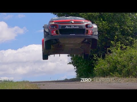 WRC Germany Tests | Massive jumps & Max attack | Mads ?stberg & Craig Breen