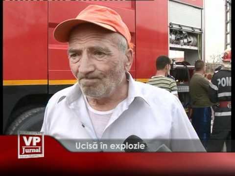 Ucisă în explozie