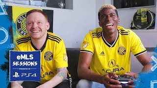 Gyasi Zardes learns timed finishing | eMLS Sessions presented by Playstation by Major League Soccer