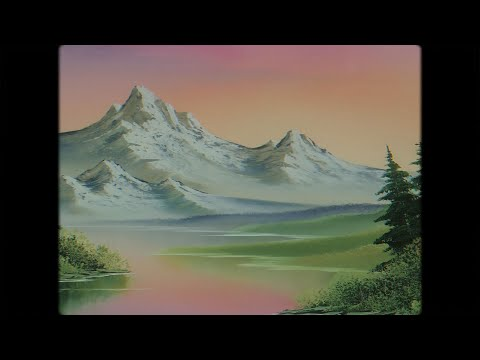 The Joy of Painting w/ Bob Ross and Banksy